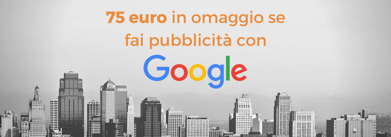 75 euro in omaggio per pubblicità con Google Broadway