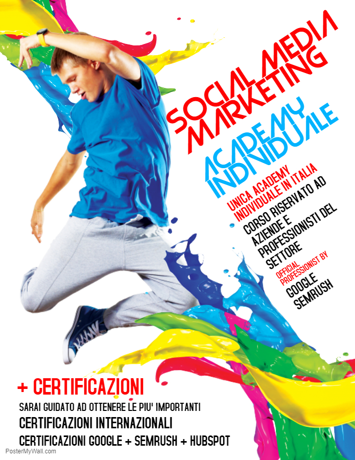 Corso in Social Media Manager Individuale + Certificazioni