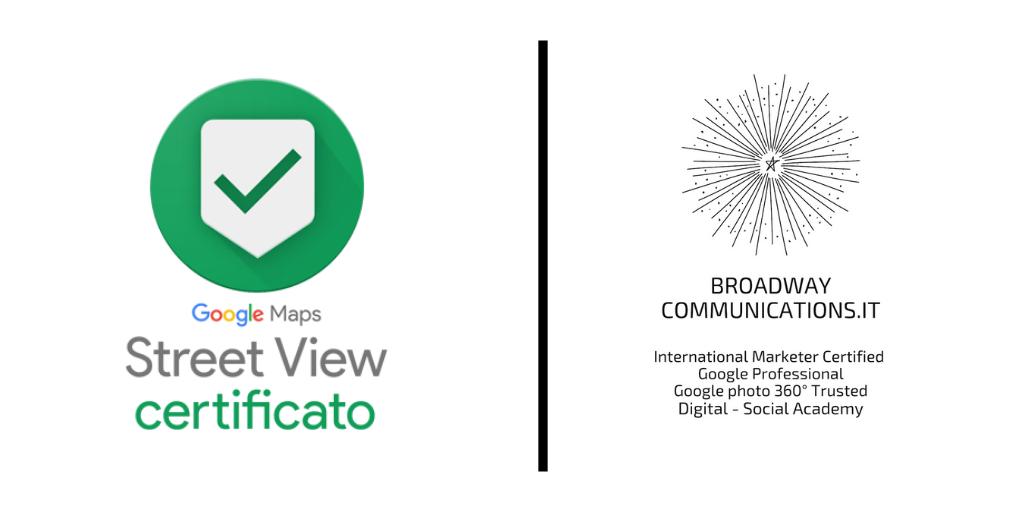 Fotografi Google 360 certificati e virtual tour google a Frosinone Roma e Latina