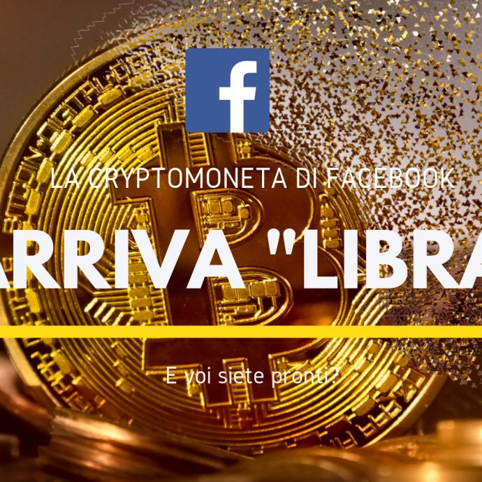 """Sarà """"Libra"""" la cryptomoneta di Facebook?"""